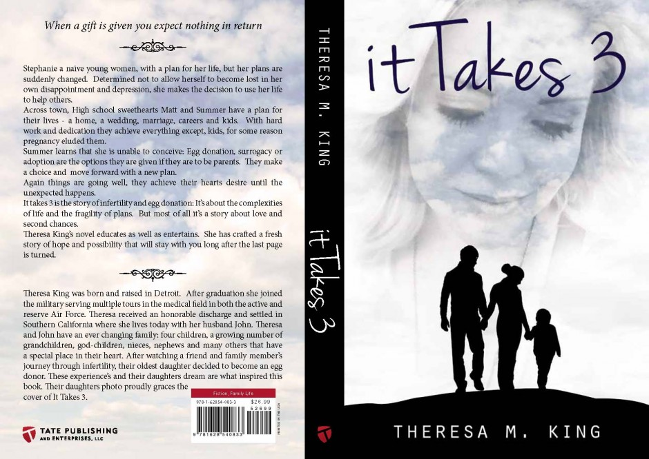 It Takes 3 Book Cover Theresa King